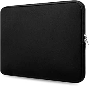 Basics 15 Inch Notebook Bag Pouch Repellent Shockproof Protection Bag Laptop and Tablet Bag Case Cover for MacBook - Black