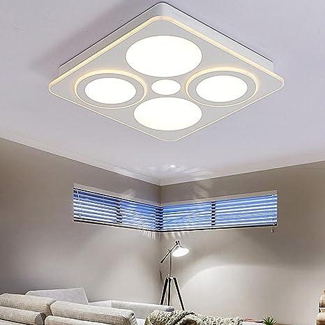 Moderno Cuadrado LED Luces de techo para Cuarto Cocina ...
