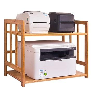 Qifengshop Piso Estante para Impresora Escritorio Soporte para ...