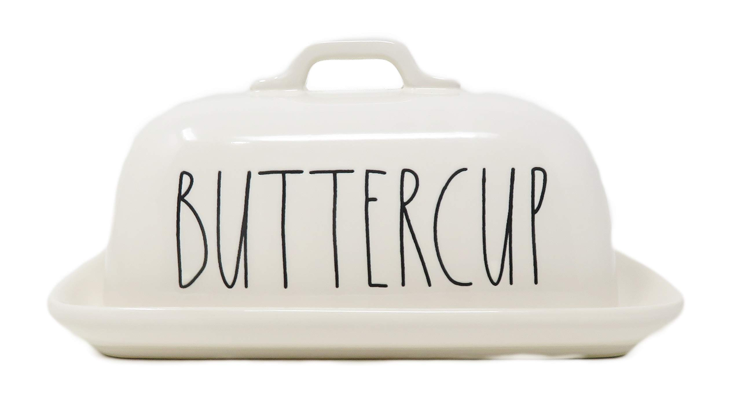 Rae Dunn By Magenta BUTTERCUP Ceramic LL Butter Dish