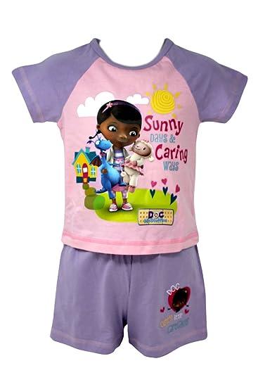 Camisa y pantalón corto para niña de Disney Junior Sunny Days & Caring Ways