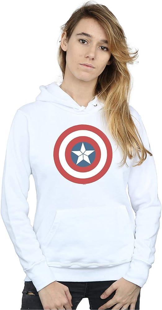 Marvel Femme Captain America Civil War Shield Sweat À