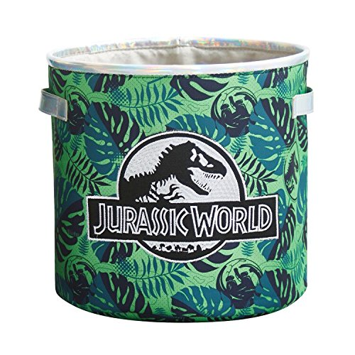 Jurassic World - Papelera Redonda, Color Verde