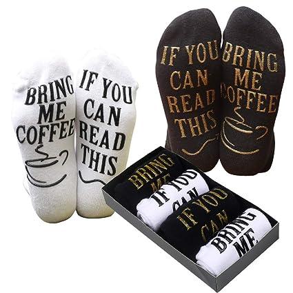 759a412d2e52 Amazon.com: Sungrace Coffee Socks