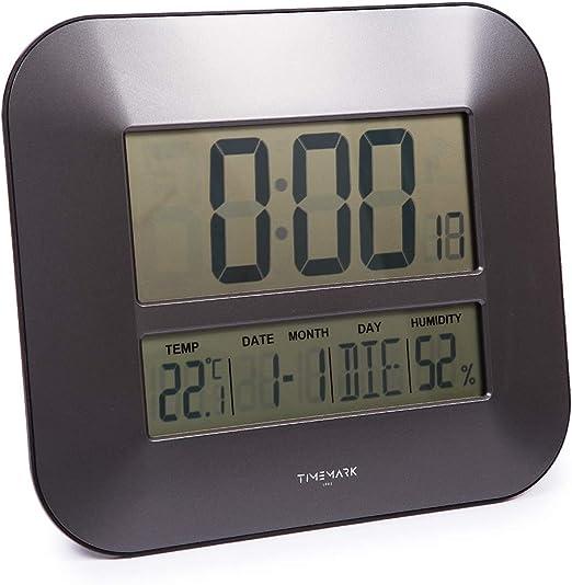 Reloj de pared digital: Amazon.es: Hogar