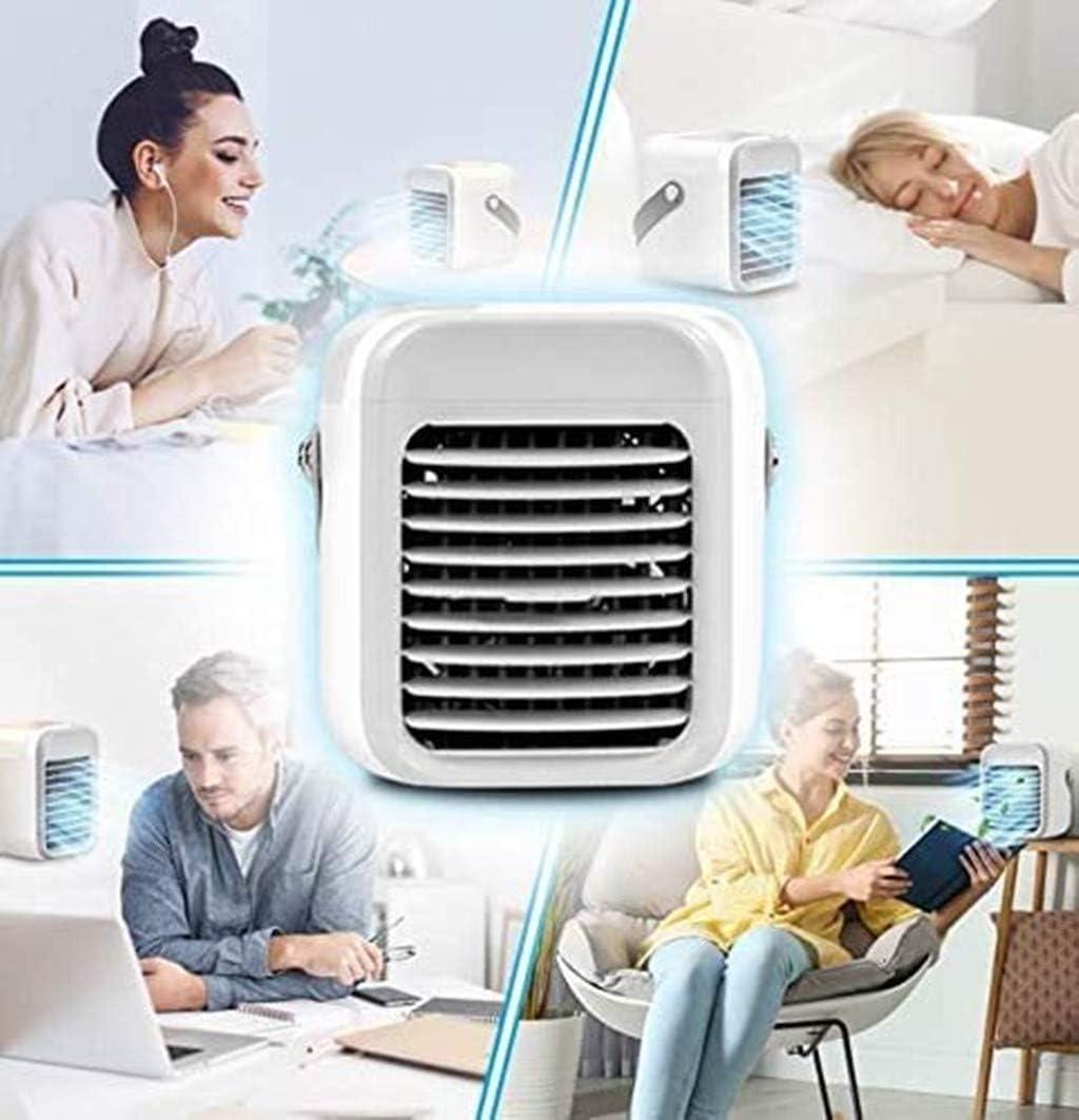 Mobile Klimager/äte Wiederaufladbare Klimaanlage Wassergek/ühlte Schnelle K/ühlung in Sekunden 30 Just Blaux Portable AC Mini Pers/önliche Klimager/äte Tragbare USB 2000mAh