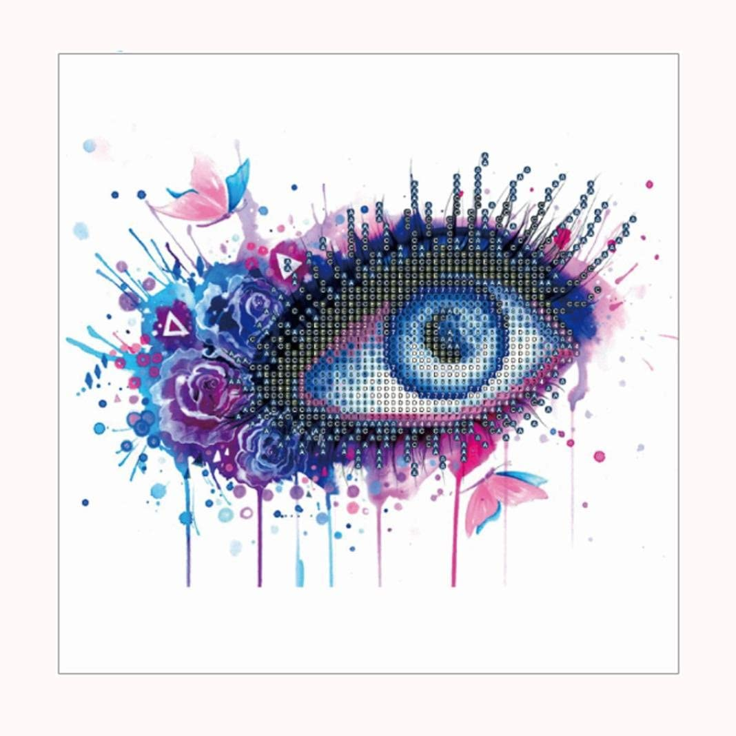 Eye DIY Full 5D Diamond Painting Embroidery Cross Stitch Home Decor Craft