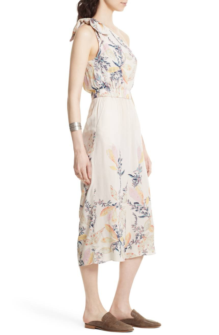 Amazon.com: Free People Womens Floral Print One Shoulder Romper Ivory S: Sports & Outdoors