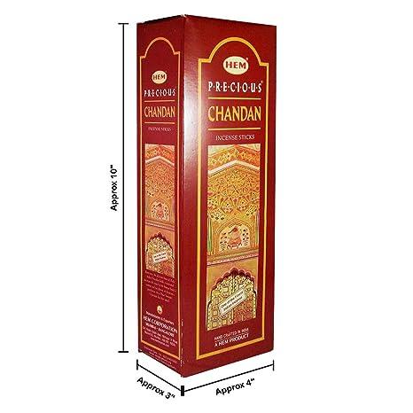 Amazon.com: Dobladillo Precioso Chandan, 120 varillas de ...