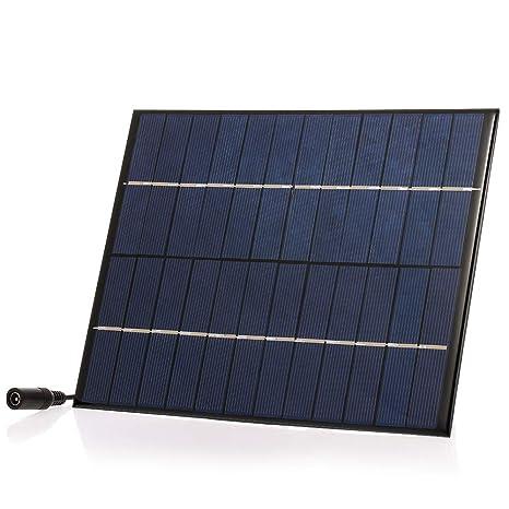 Festnight 5.2W / 12V DIY Cargador Solar con 5521 DC Salida ...