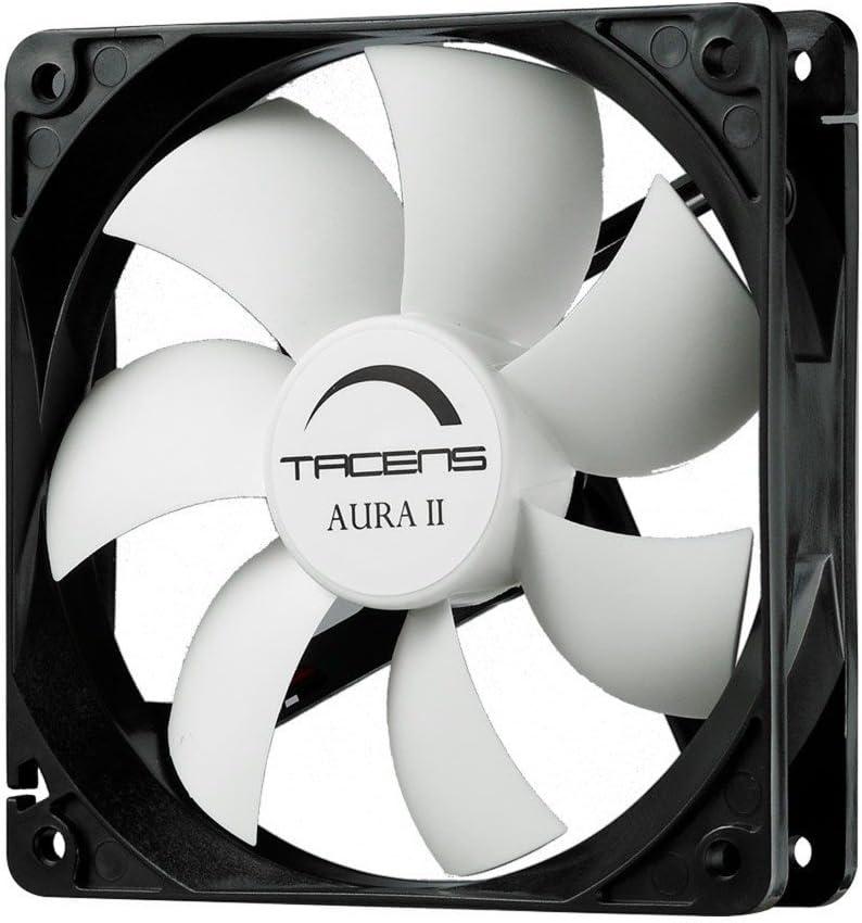 Tacens Aura II - Ventilador para ordenador (9 cm, +60.000 h ...