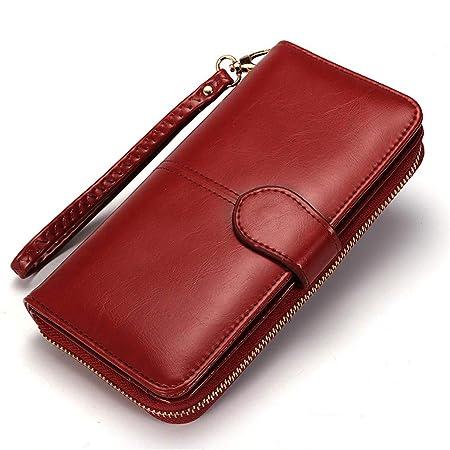 412d17df1790 Amazon.com: JNCLEO Women Wallet Female Purse Women Leather Wallet ...
