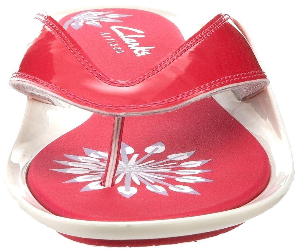 Clarks Womens Canary Flight Thong Sandal