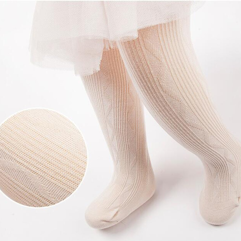 6Pack of Baby Toddler Spring Fall Pantyhose Cable Knit Tights Leggings Stocking Pants