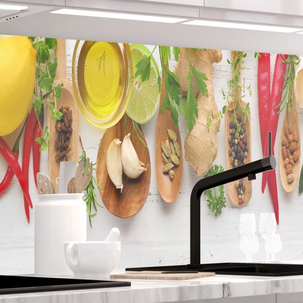 StickerProfis Küchenrückwand Küchenrückwand Küchenrückwand selbstklebend - OLIVEN - 1.5mm, Versteift, alle Untergründe, Hart PVC, Premium 60 x 280cm B07M5VF1ZF Wandtattoos & Wandbilder e2dec2