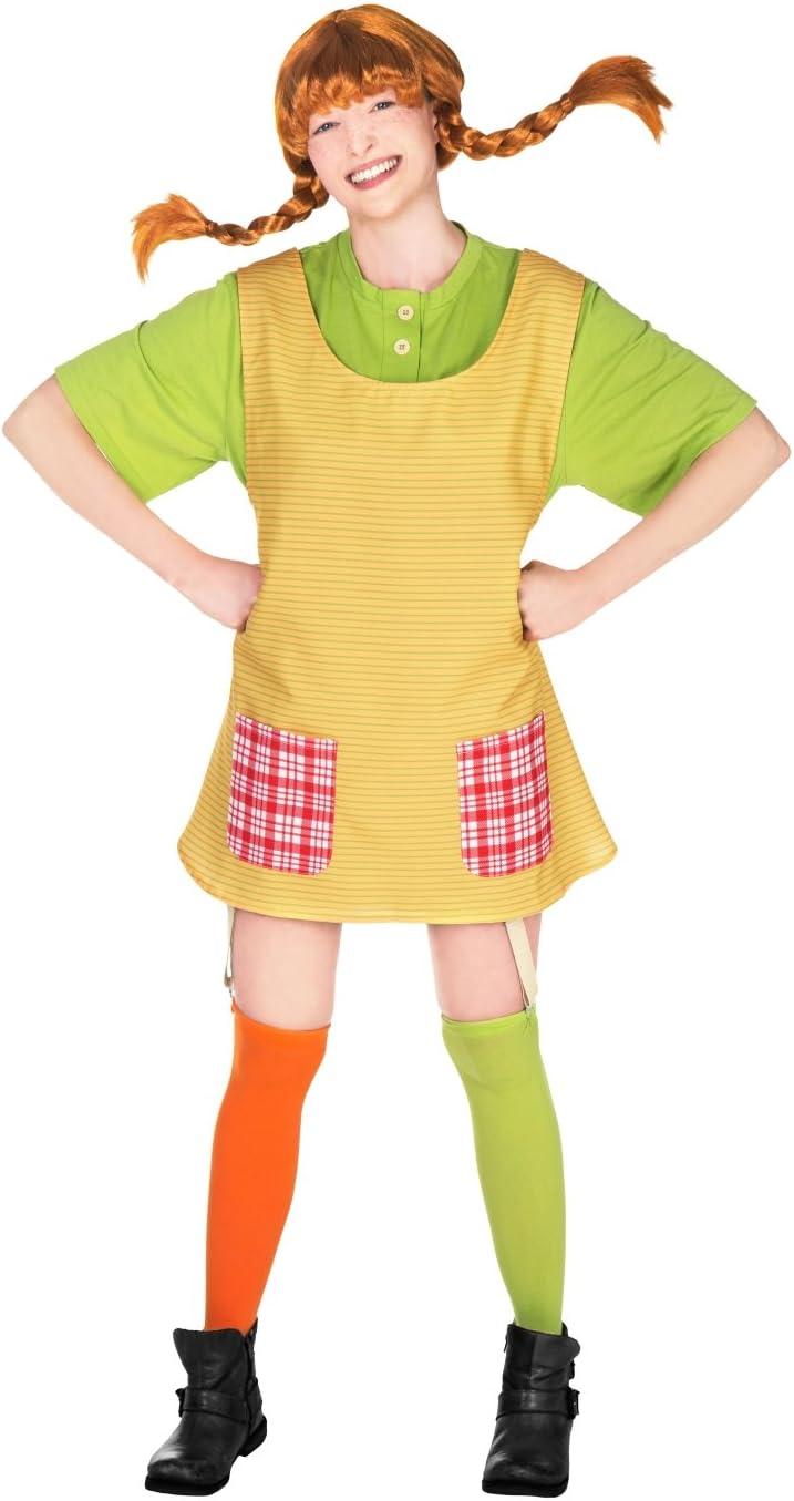 Disfraz de Pipi Calzaslargas mujer L: Amazon.es: Juguetes y juegos