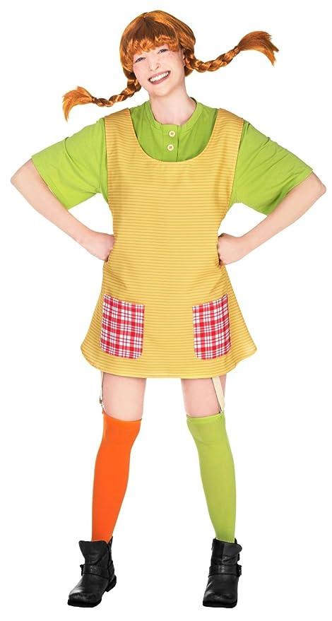 33845d54c2f51 Pippi Calzelunghe Costume per adulti - XX-Large  Amazon.it  Giochi e ...