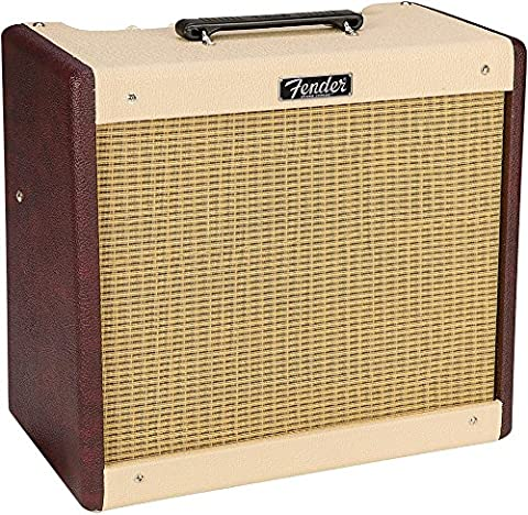 Fender Limited-Edition Blues Jr 15W 1x12 Tube Guitar Combo Amplifier Two-Tone Wine Blonde - Fender Blues Combo Amps