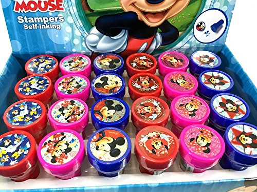 Disney Mickey Mouse 24 Stampers Party Favors (IN BOX)