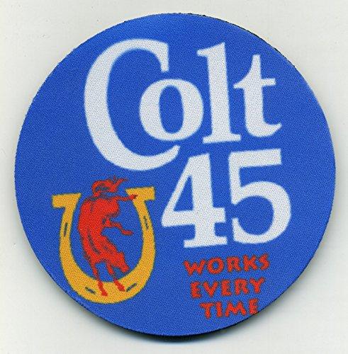 Colt 45 Malt Liquor - Beer Coaster Set - Vintage Design