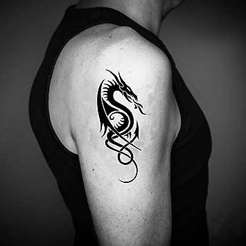Tatuaje Temporal de Dragón celta (2 Piezas) - www.ohmytat.com ...