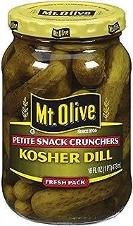 product image for Mt. Olive Petite Snack Crunchers, Kosher Dills, 16 FL Oz