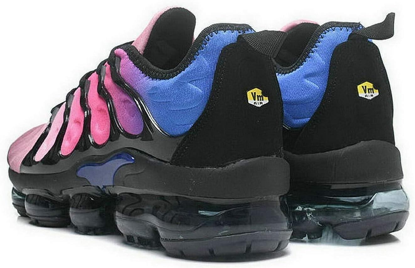 Chaussures de Sport Baskets Mode Basses Outdoor Running Sneakers Gymnastique Femme Homme Blue Pink