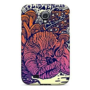 Anti-Scratch Hard Cell-phone Cases For Samsung Galaxy S4 With Support Your Personal Customized Vivid Strange Magic Image IanJoeyPatricia