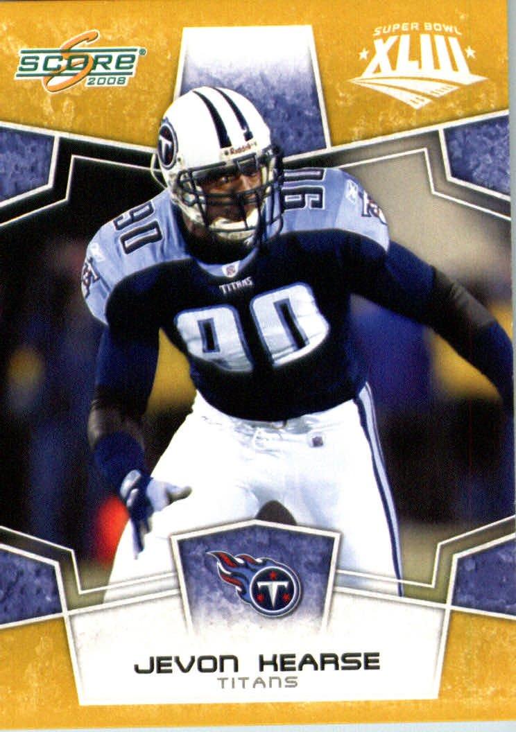 2008スコアSuperbowlゴールドNFLフットボールカード ( – ( – Limited B00B7TY9M8 to 800 Made ) # 313 Jevon Kearse DE – Tennessee Titans B00B7TY9M8, ペットトレジャー:97414506 --- harrow-unison.org.uk