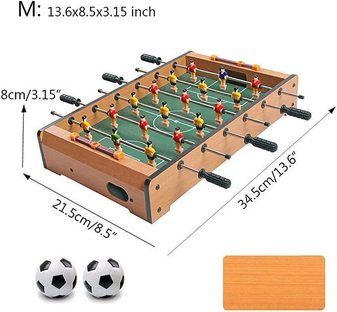 Househome - Futbolín de Mesa, Mesa de futbolín, Juego de Mesa y minijuegos de Mesa, futbolín, Medium: Amazon.es: Hogar