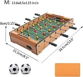 Househome Baby-Foot de Table, Table de Soccer en Bois, Jeu de Football de Table, Mini-Jeux de Table, Baby-Foot de Football