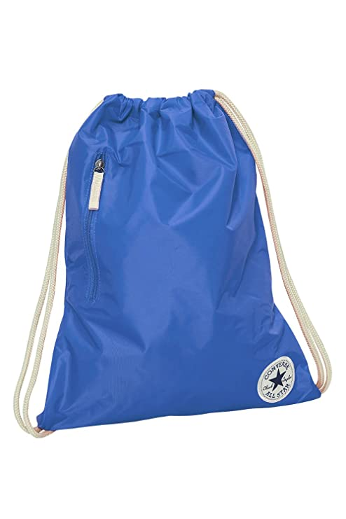 CONVERSE Core Poly Cinch Drawstring Bag Mid Blue Gym Bag 13634C-484  Amazon. ca  Luggage   Bags f4fc55cbe6