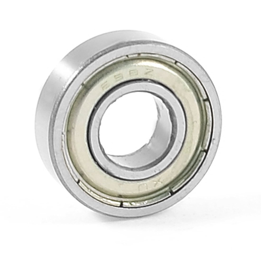 698Z Metal Sealed Deep Groove Ball Bearing 19mm x 8mm x 6mm Sourcingmap a13050600ux0268