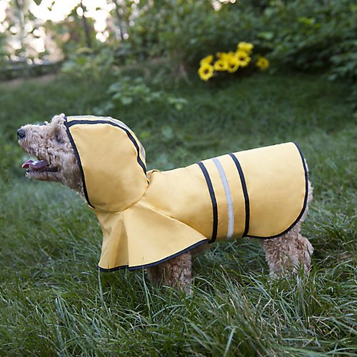 Fashion Pet Dog Raincoat For Small Dogs | Dog Rain Jacket With Hood | Dog Rain Poncho | 100% Polyester | Water Proof…