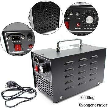 SENDERPICK 10000mg/h. Generador de ozono comercial, purificador de ...