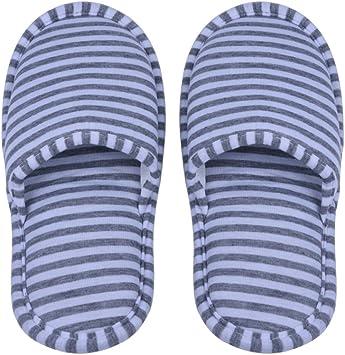 1par Zapatillas Plegables Antideslizantes con Bolsa de Almacenamiento para Viaje Casa Hotel Vuelo Indoor Exterior Talla 34-42EU (Color : Gray Stripes 34-36EU) : Amazon.es: Deportes y aire libre