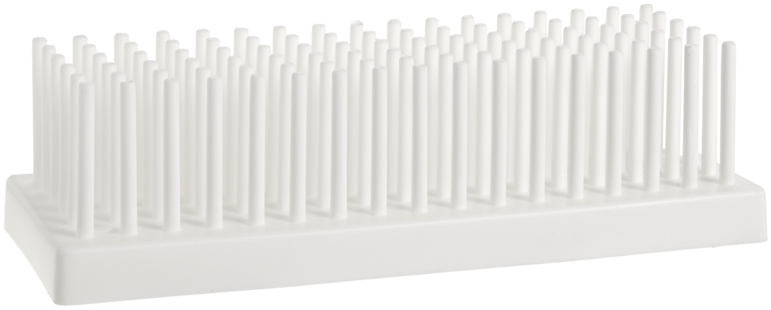 Bel-Art H18910-0102 Full-View Test Tube Support; 10-13mm, 80 Places, Polypropylene by SP Scienceware