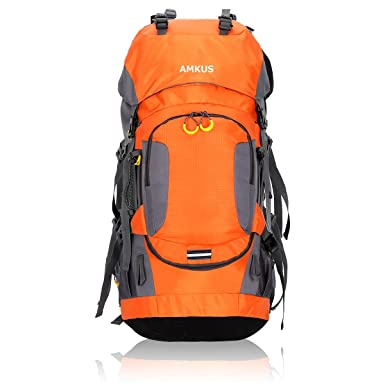 9007f53885ee AMKUS バックパック リュックサック 大容量 軽量 収納性抜群 防水 アウトドア 防災 旅行 登山