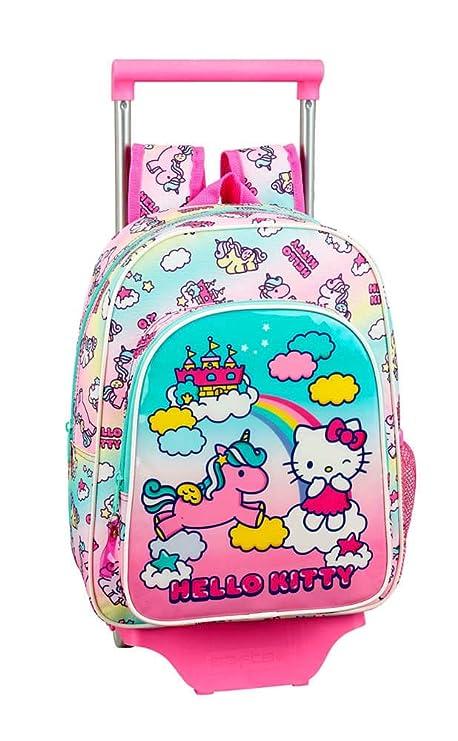 Hello Kitty Candy Unicorns Mochila pequeña Ruedas, Carro, Trolley ...