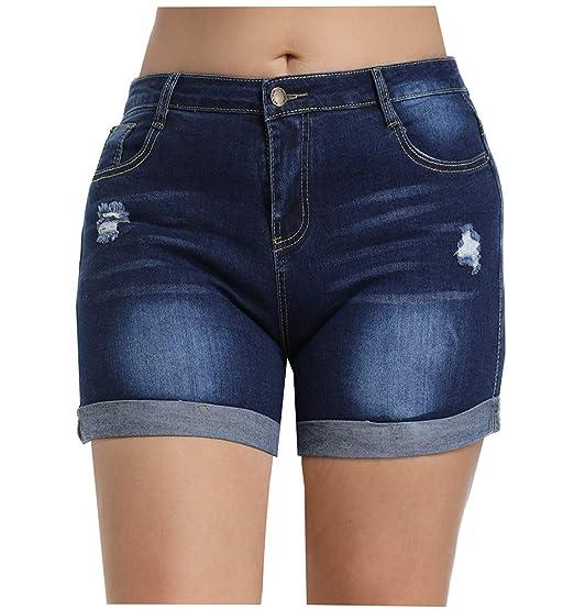 Hydesen Shorts Hoge DamesDames Voor Met Taille iPZuXk