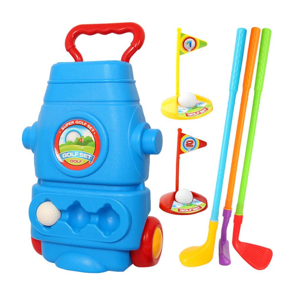 Toyvian 11 Piezas Juguete de Golf para Niños Palos Pelotas ...