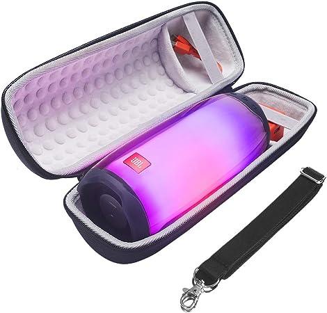 Eyglo Etui de Transport Rigide pour JBL Pulse 4 Haut-Parleur Housse de Protection Sac de Transport Cas Multicolore