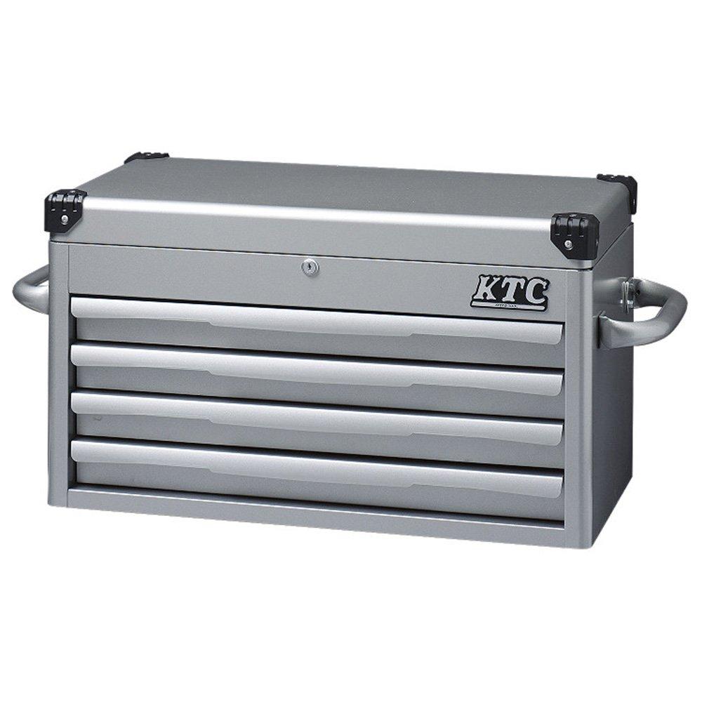 KTC(ケーテーシー) トップチェスト 4段4引出し シルバー EKR-1004 (2015 京都機械工具 企画商品) B00GY4VVD6