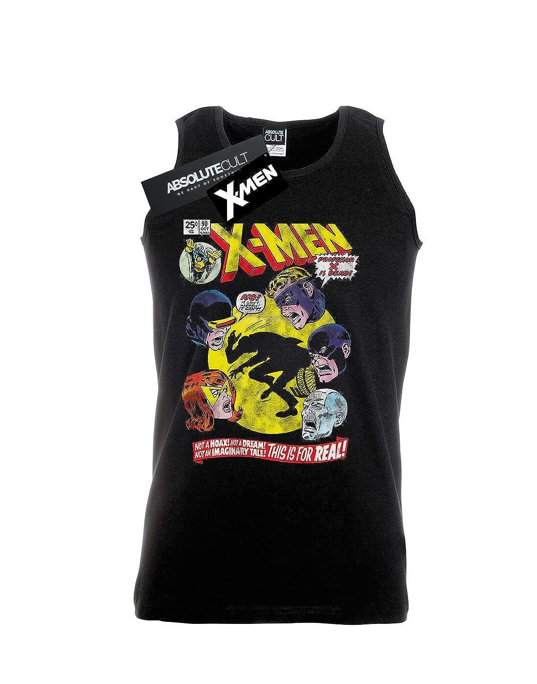 Marvel Hombre X-Men Professor X Is Dead Camiseta Sin Mangas