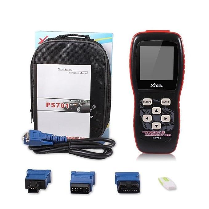 Autool Xtool PS701 JOBD2 OBD2 Herramienta de diagnóstico Automóviles japoneses Lector de código de motor de automóvil Escáneres: Amazon.es: Coche y moto