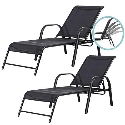 Amazon.com: Hulaloveshop 2 piezas Sillón reclinable para ...