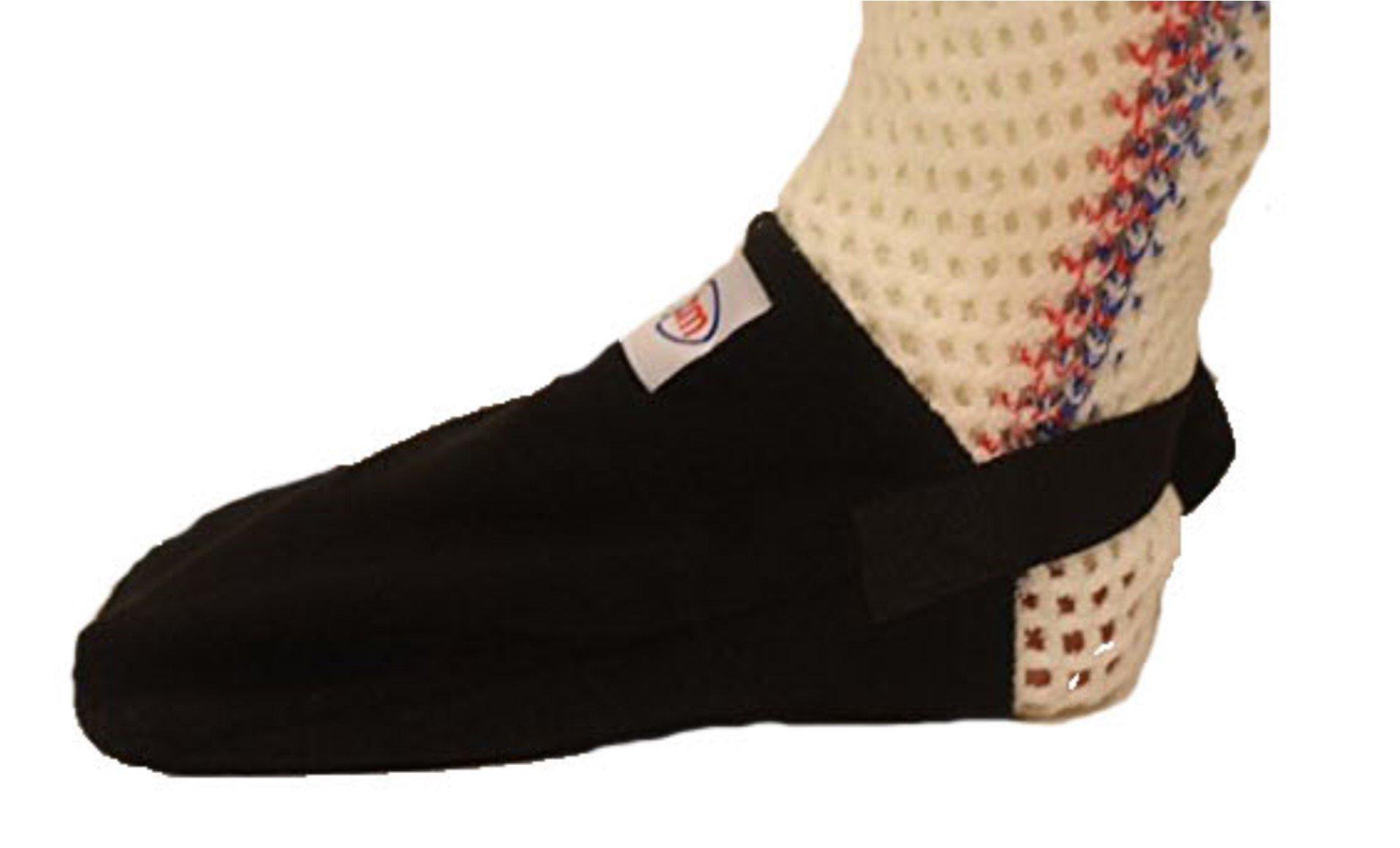 GBM Adjustable Non-Slip Cast Toe Cover (Black)