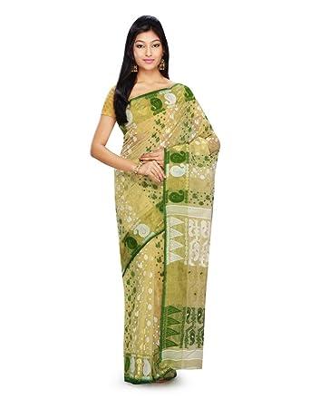 16613d2e76 Rudrakshhh traditional Pure Dhakai Handloom Silk Jamdani saree with self weave  design, border and pallu with self weave and zari an elegant party wear ...