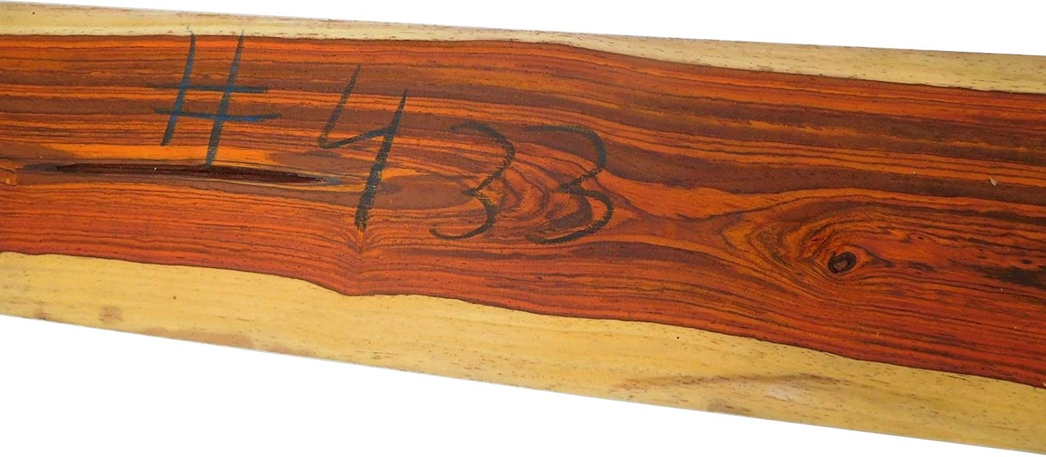 3//4 inch Thick kiln Dried Cocobolo Rosewood Boards with Some White Wood