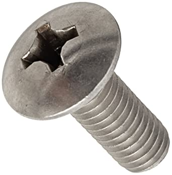 1-1//2 Length Zinc Plated Finish Imported Meets ASME B18.6.3 #10-32 Thread Size 1-1//2 Length Small Parts 1124MPT #2 Phillips Drive Steel Truss Head Machine Screw Fully Threaded Pack of 100